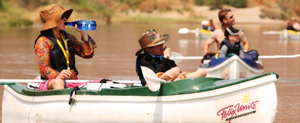 4 Day Orange River Canoe Trip