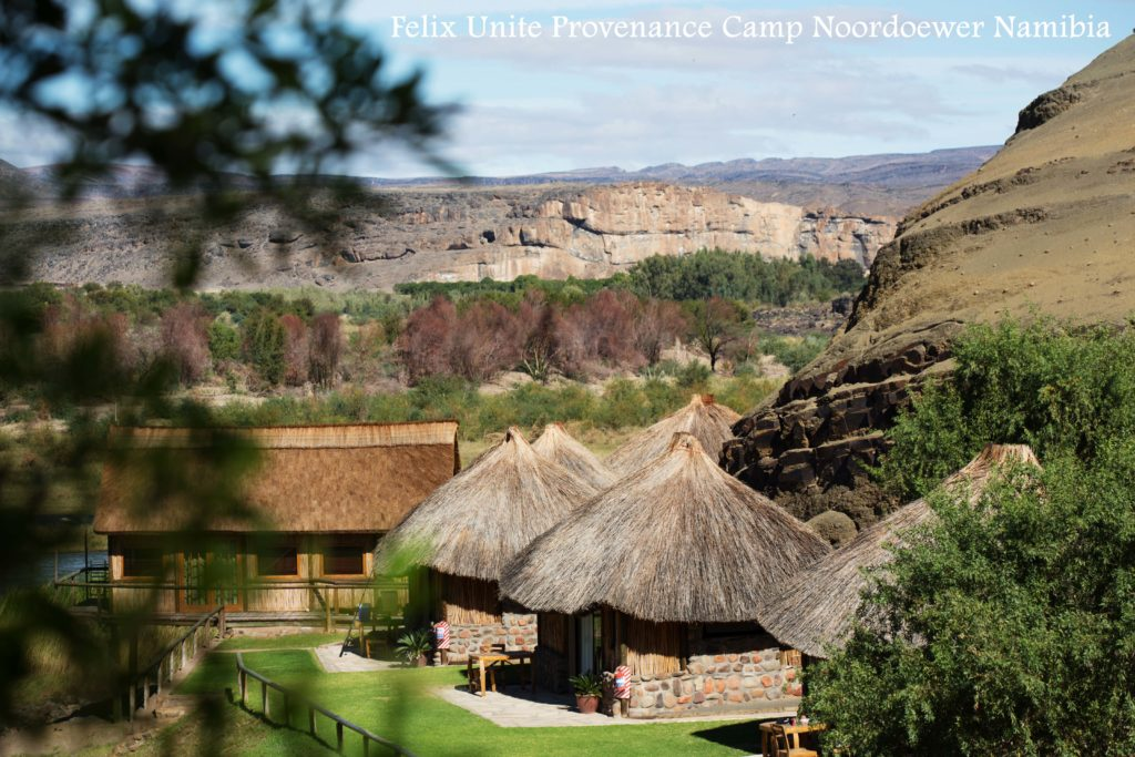 Accommodation Southern Namibia, Orange River